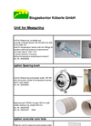 Measuring Products  Brochure
