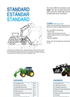Front End Loaders-S390 MODEL Brochure