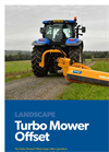 Bomford - Model 160 - Turbo Mower Offset Flail Mower Brochure