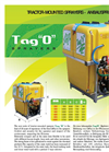 Tago - Model B - Tractor-Mounted Sprayers Brochure