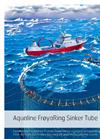 Aqualine FrøyaRing Sinker Tube Brochure