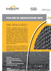 Badinotti - Net Coatings - Antifouling for Fish Farming Nets Datasheet
