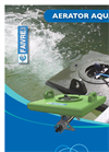 Aquasub - Floating Surface Aerator Brochure