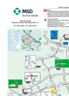 MSD Animal Health - Company Location Map Brochure