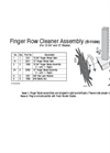 6 Hole Finger Row Cleaners Brochure