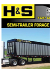 H&S - Model 36 and 40 Top Dog - Semi-Trailors Forage Box - Brochure