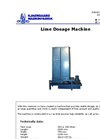 Model Tank 200 L - Lime Dosage Machine Brochure