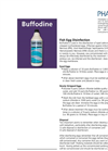 Buffodine - Fish Egg Disinfection - Brochure