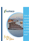 Nutreco Feeding the Future - Aquaculture   Brochure