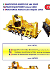 Model ACL - Rotary Tiller Brochure