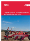 Joker - Model MT - Disc Harrows Brochure