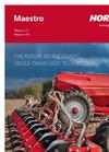Maestro - Model DC - Single Grain Seed Drills Brochure