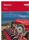 Maestro - Model RC - Single Grain Seed Drills Brochure