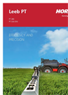 Leeb - Model PT 280 - Self Propelled Sprayers Brochure