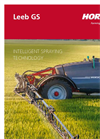 Leeb - Model GS - Trailed Sprayers Brochure