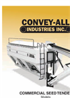 Convey-All - Model CST 3400 Truck Series - Commercial Seed Tenders - User Manual