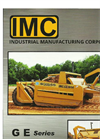 IMC - Model GE Series - Gated Ejector Scraper - Brochure