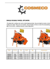 Single Double Wheel Ditchers-CMB 80