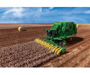 New John Deere CS690 Cotton Stripper Maximizes Harvest Efficiency