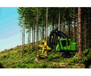 John Deere 800M-Series Tracked Feller Bunchers and Harvesters Now Equipped with Final Tier 4 Engines