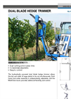 Dual Blade Hedge Trimmer Brochure