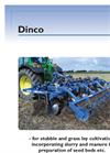 Dinco - Model 1887 - Heavy Duty Mounted Stubble Cultivator  Brochure