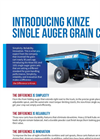 Kinze - Model 1051 - Single Auger Grain Cart Brochure