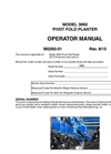 KINZE - Model 3660 - Row Crop Planters Manual