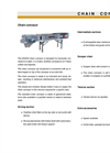 Chain Conveyor- Brochure