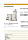 Omega - Universal Cleaning Machine- Brochure
