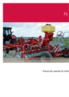 Model FS - Mounted Seed Drills Brochure