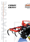 Comby Gigant - Model CC 40 G and 50 G - Chisel Cultivator Brochure