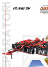 TOWED PLANO - Model SP - Cultivation Machine Brochure