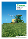 Krone - Model BiG M 420 - Self-Propelled Mower Conditioner - Brochure