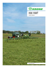 Krone - Model KW Series - Mounted Rotary Tedders - Brochure
