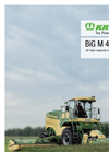 Krone - Model BiG M 450 - High-Performance Mower Conditioner - Brochure