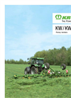 Krone - Model KW - Mounted Rotary Tedders - Brochure