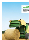 Krone - Model Bellima F 125 and F 130 - Round Balers - Brochure