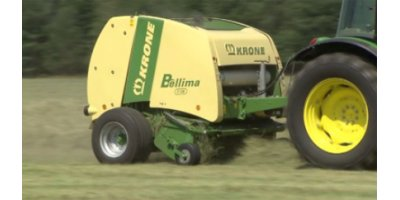 Krone - Model Bellima F 125 and F 130 - Round Balers