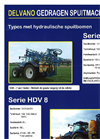 Model HDV 8 - Mounted Sprayer Brochure