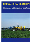 EAKS PS - Model 4400 - Trailed Sprayer Brochure