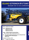 Model 6000 PS - Trailed Sprayer Brochure