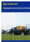 Model ST 11 - Selfpropelled Sprayer Brochure