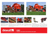 1-Row Trailed Carrot Harvester with Bunker-GBI Series