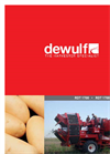 Dewulf - Model Torro - 2-Row Trailed Potato Harvester with Bunker - Brochure