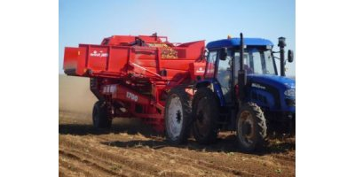 Model RDT - 2-Row Trailed Potato Harvester with Bunker