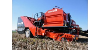 Dewulf - Model Torro - 2-Row Trailed Potato Harvester with Bunker