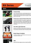 Kubota - BX 70 - Sub-Compact Tractor Datasheet