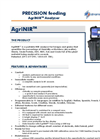 AgriNIR - NIR Analyzer Brochure