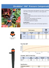 Shrubbler - Model 360° - Pressure Compensating Fixed Diameter Drip Emitter Datasheet